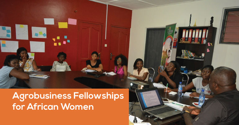 Agrobusiness Fellowships for African Women