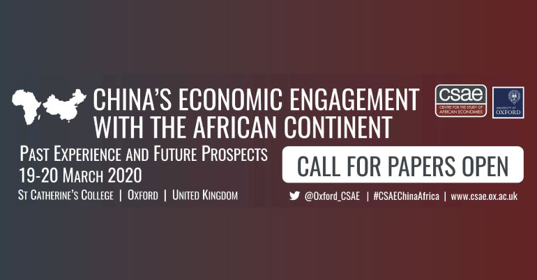 Centre for the Study of African Economies (CSAE) Conference 2020 in UK