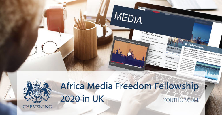 Chevening Africa Media Freedom Fellowship 2020 in University of Westminster, UK