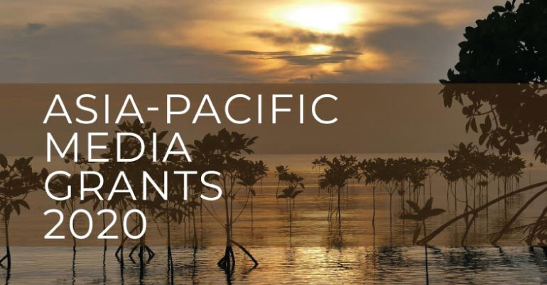 Earth Journalism Network Asia-Pacific Media Grants 2020