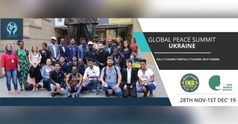 Global Peace Summit Ukraine 2019 (Funds Available)