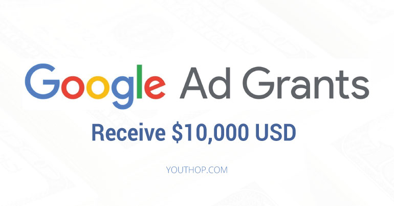 Google Ad Grants (Receive $10,000 USD of In-Kind Google Ads Advertising Each Month)