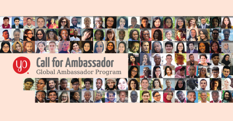 Youth Opportunities Global Ambassador Program 2019-20