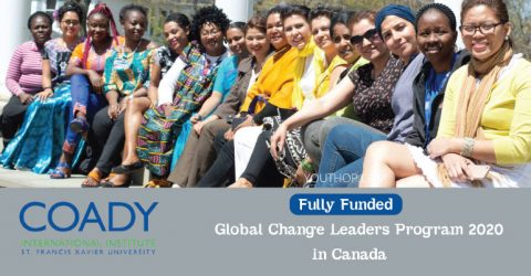 Fully Funded Global Change Leaders Program 2020 in Canada