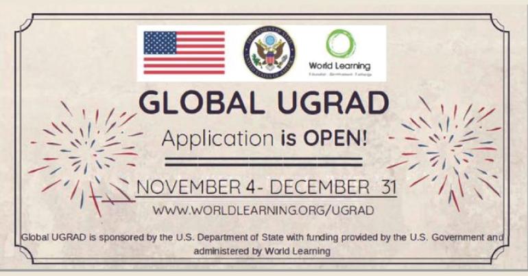 Global Undergraduate Exchange Program- Global UGRAD 2020 in USA