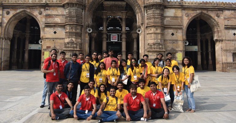 UNESCO WHV 2019 – Let's Heritage at Historic City of Ahmedabad