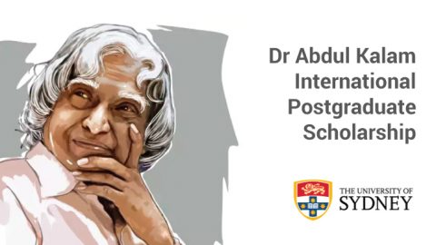 Dr APJ Abdul Kalam International Postgraduate Scholarship Program 2020