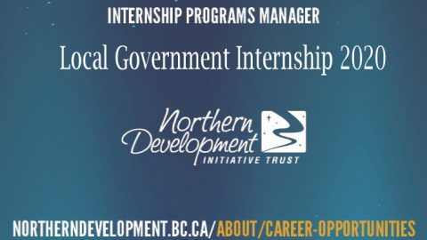 (Receive up to $35,000) Local Government Internship 2020 in Canada by Northern Development Initiative Trust