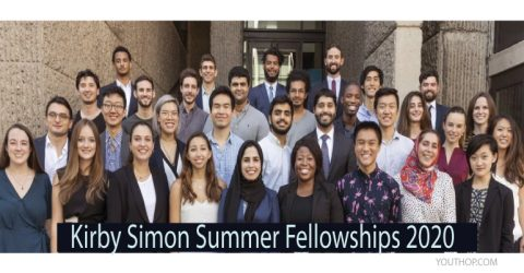 (Funding Available) Kirby Simon Summer Fellowships 2020 for Yale Students