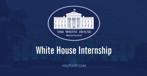 The White House Internship Program in USA, Summer 2020