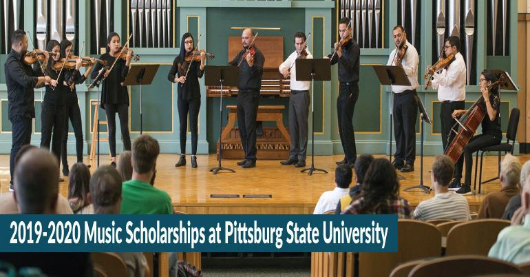 2019-2020 Music Scholarships at Pittsburg State University