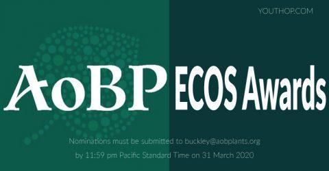 2020 AoBP ECOS Awards (Award of USD $3,000)
