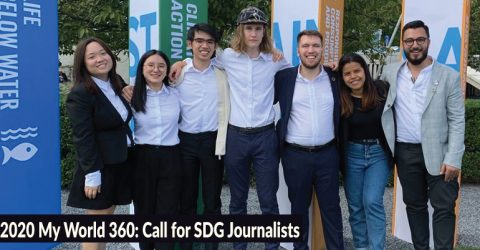 2020 My World 360: Call for SDG Journalists