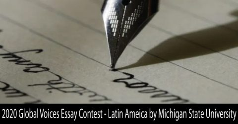 2020 Global Voices Essay Contest – Latin Ameica by Michigan State University