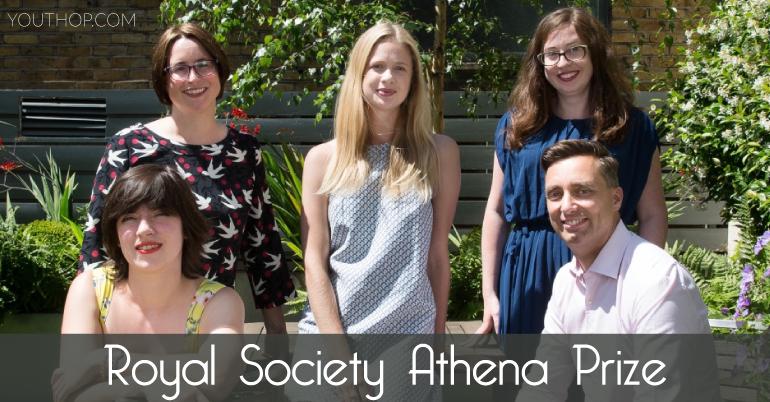 The Royal Society Athena Prize 2020