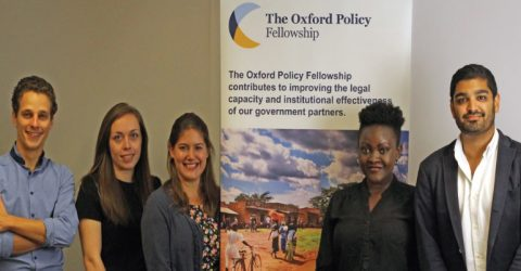 Oxford Policy Fellowship 2020-2022 (Receive GBP 26,000)