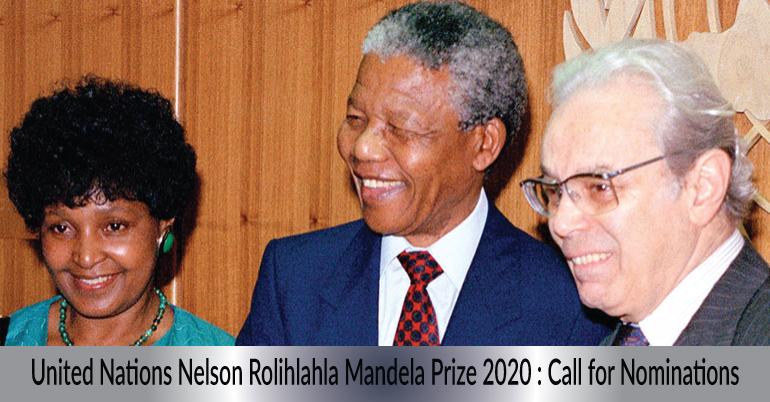 Nelson Mandela Prize