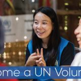 UN volunteer 2020