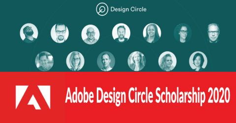 (Partially funded) Adobe Design Circle Scholarship 2020