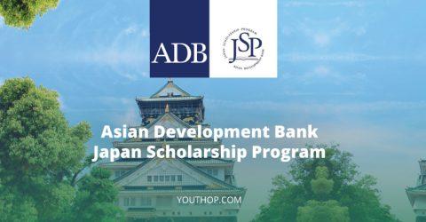 Asian Development Bank-Japan Scholarship Program 2020 in Asia-Pacific Region