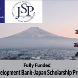 Asian Development Bank-Japan Scholarship Program 2020