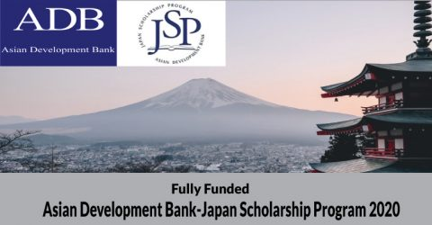 Asian Development Bank-Japan Scholarship Program 2020 in Asia-Pacific Region
