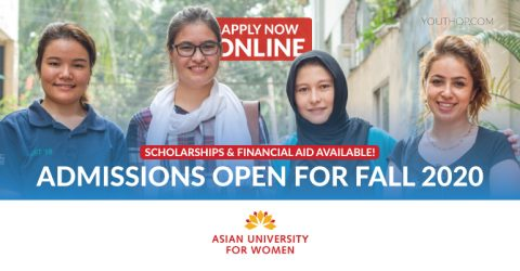 Asian University for Women- Admissions Open for Fall 2020 (Scholarships & Financial Aid Available)