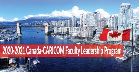 2020-2021 Canada-CARICOM Faculty Leadership Program