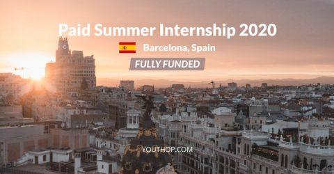 CRG Summer Internship 2020 in Barcelona, Spain (Fully Funded)