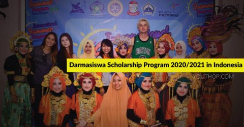 Darmasiswa Scholarship Program 2020/2021 in Indonesia