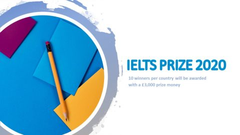 Apply Now: IELTS Prize 2020