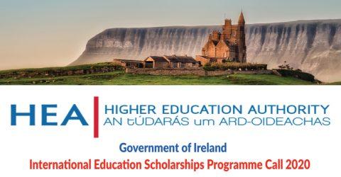 Government of Ireland- International Education Scholarships 2020 (Fully Funded)