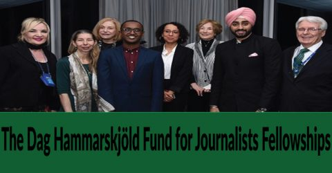 2020 Dag Hammarskjöld Journalism Fellowships in USA
