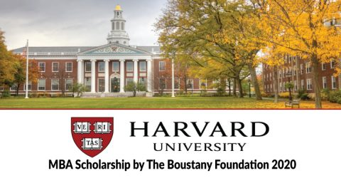 Harvard University MBA Scholarship by The Boustany Foundation 2020 (Fully Funded)