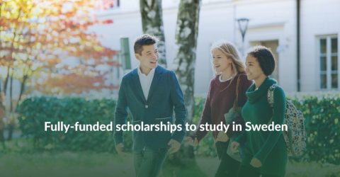 Swedish Institute Scholarships for Global Professionals 2020-2021