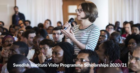 Swedish Institute Visby Programme Scholarships 2020/21
