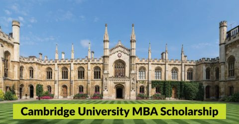 Cambridge University MBA Scholarship 2020 in UK