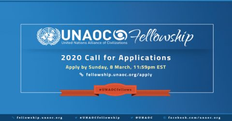 UNAOC Fellowship Programme 2020: Call for Applications