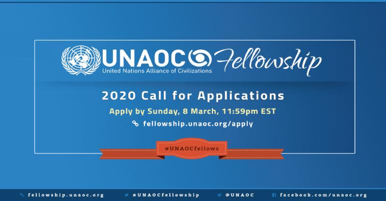 UNAOC Fellowship Programme 2020