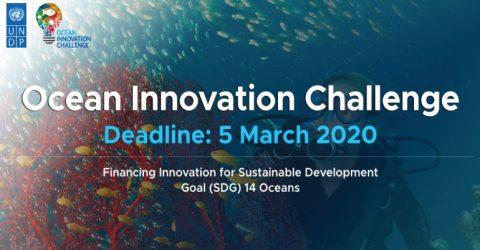 UNDP Ocean Innovation Challenge 2020 (Grant upto 250,000 USD)