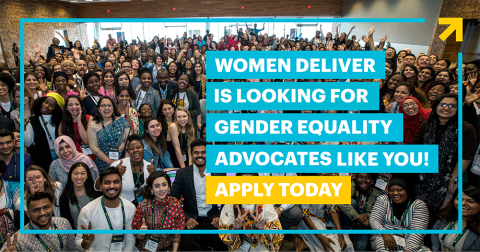 Join the Women Deliver Young Leaders Program – Class of 2020