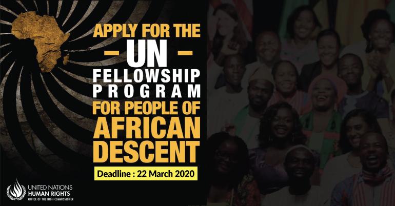 2020 Fellowship Programme in Geneva