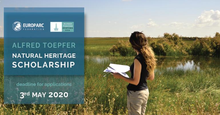 Alfred Toepfer Natural Heritage Scholarships 2020