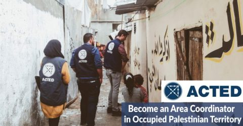Area Coordinator in Occupied Palestinian Territory by ACTED