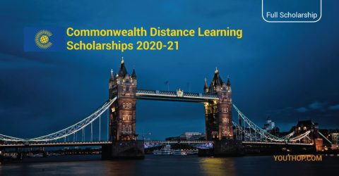 Commonwealth Distance Learning Scholarships 2020-21