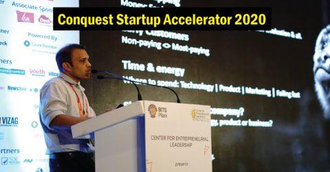 Conquest Startup Accelerator 2020 in India