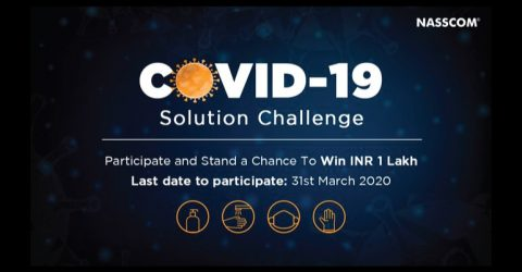 COVID-19 Solution Challenge by Government of India (Prize of Rs1,00,000)