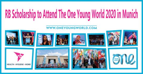 RB Scholarship to Attend The One Young World 2020 in Munich