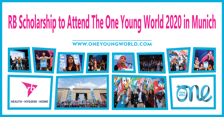 Full Scholarship) RB Scholarship | The One Young World 2020 in Munich
