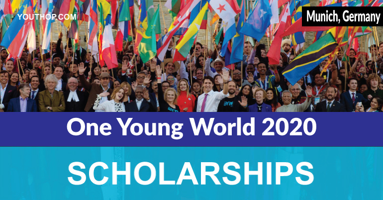 Scholarships for One Young World 2020
